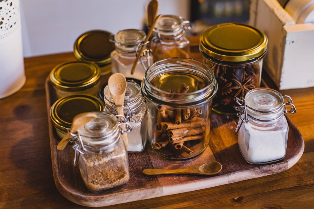 glass jars - great gift idea for a witch