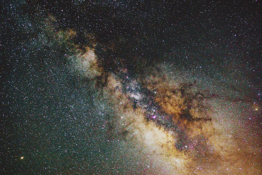 galaxy, milky way stargazing