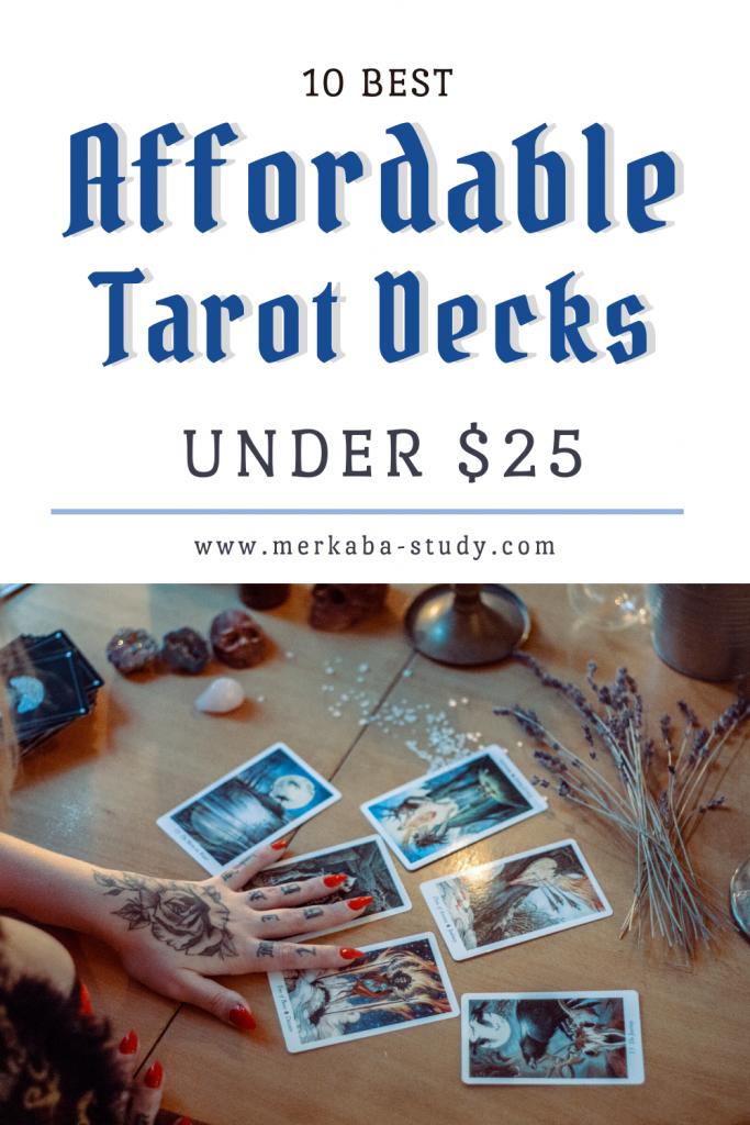 affordable tarot decks pinterest pin