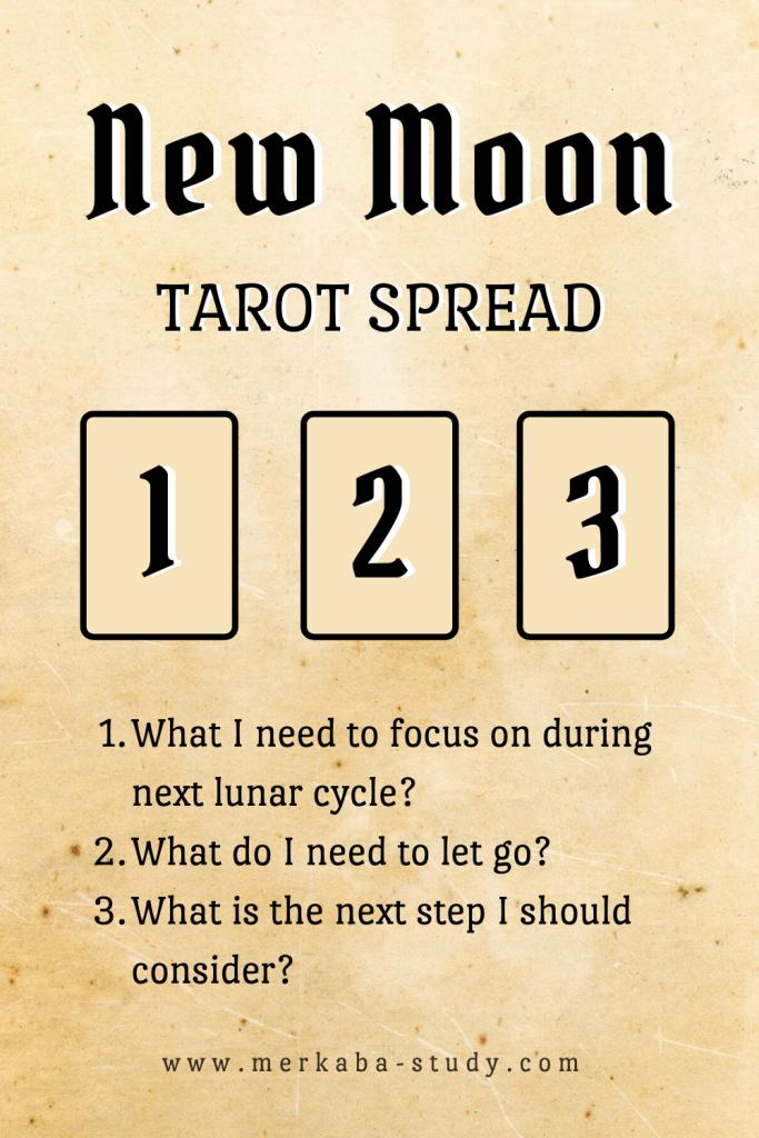 new moon tarot spread