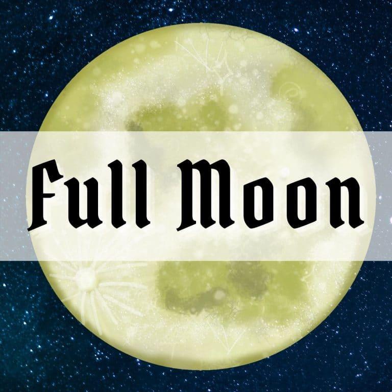 full moon rituals merkaba study