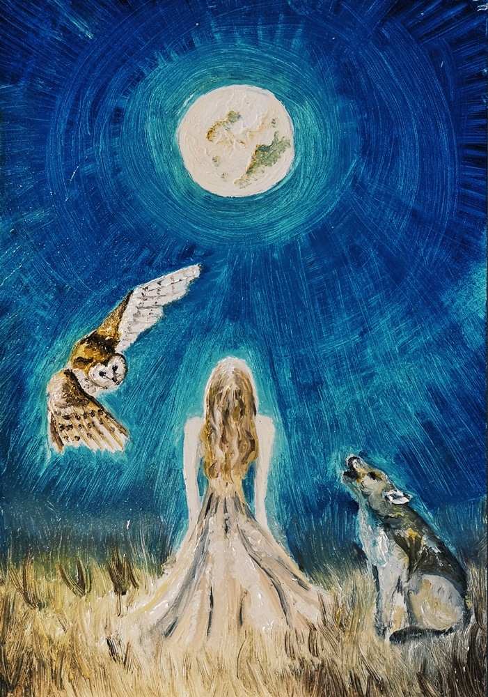 Selene Full Moon Merkaba Study