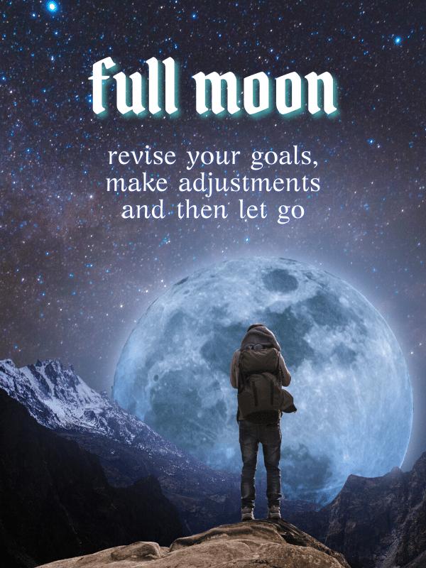 full moon revise your goals merkaba study