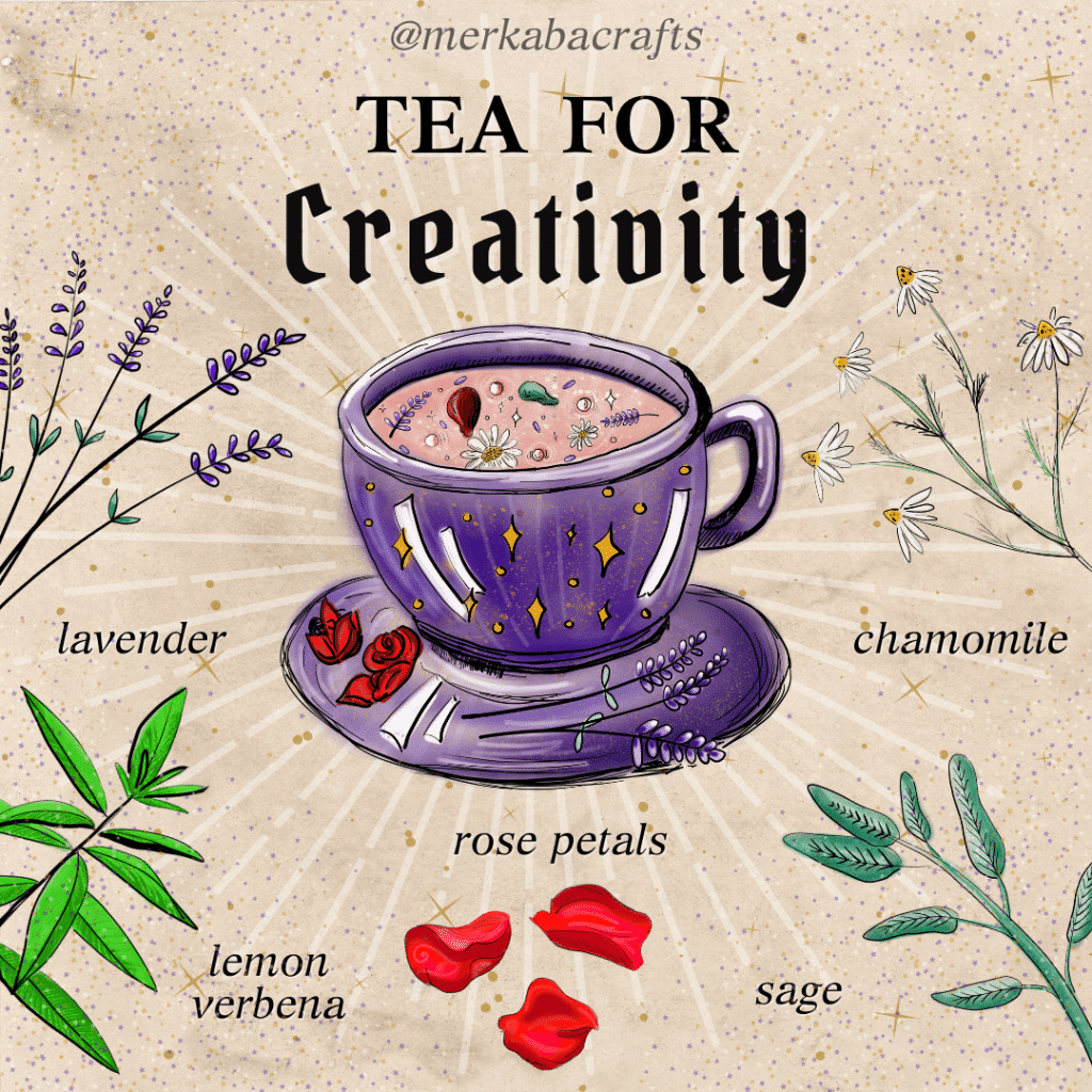 tea for creativity merkaba study