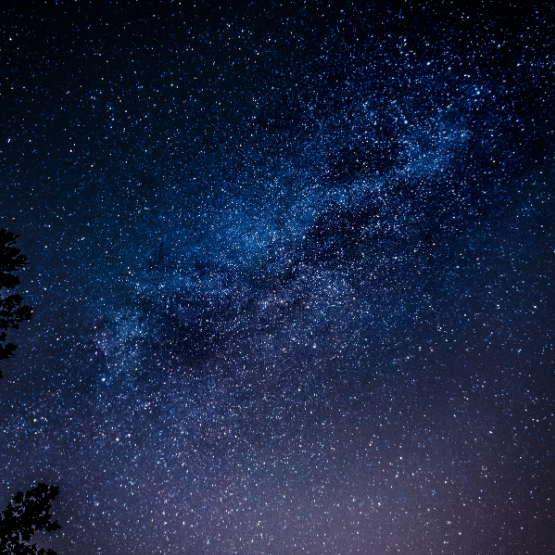 the image of the night sky and milky way