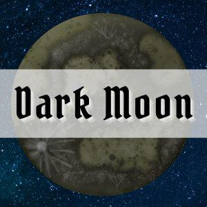 dark moon magic spells and rituals photo