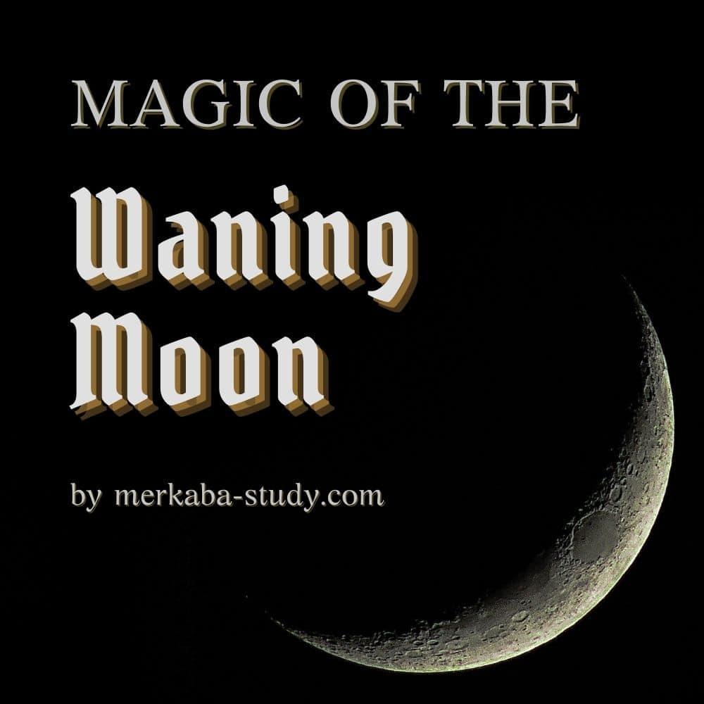 Magic of the Waning Moon by merkaba study