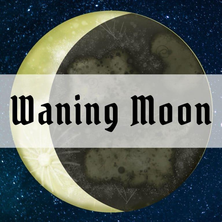 waning moon merkaba study