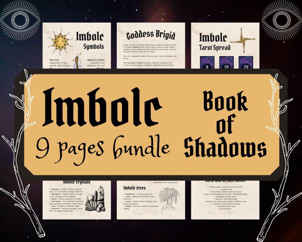 Imbolc Book of Shadows Bundle
