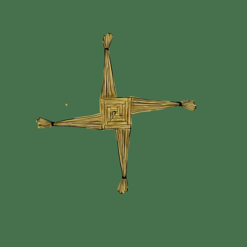 doodle of the Brigid's Cross