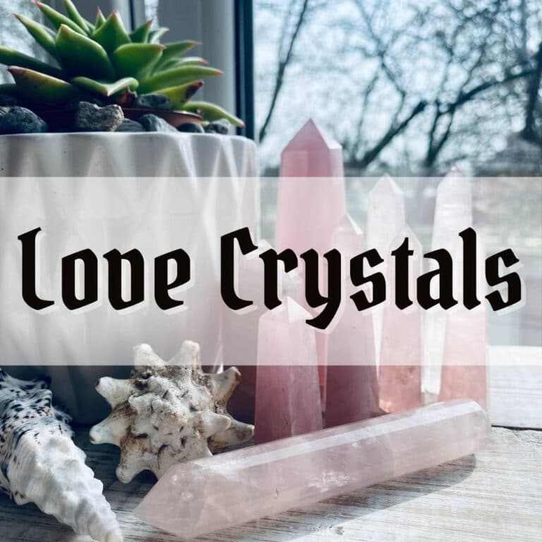 crystals for love spells