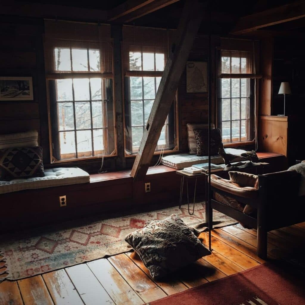 photo of a beautiful inside of the cottage of the hedge witch