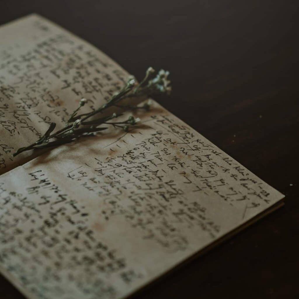photo of personal spell book