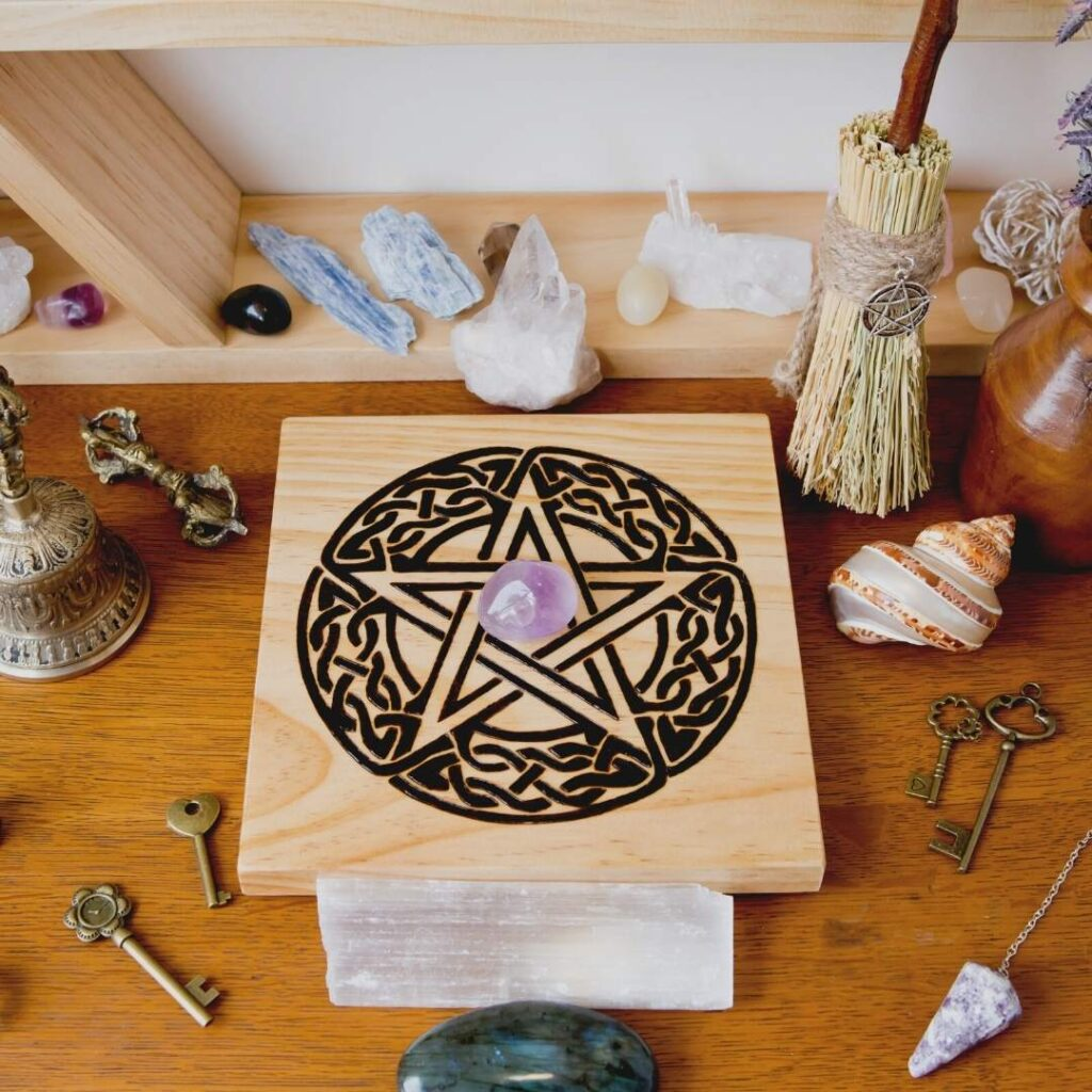 crystal witch altar
