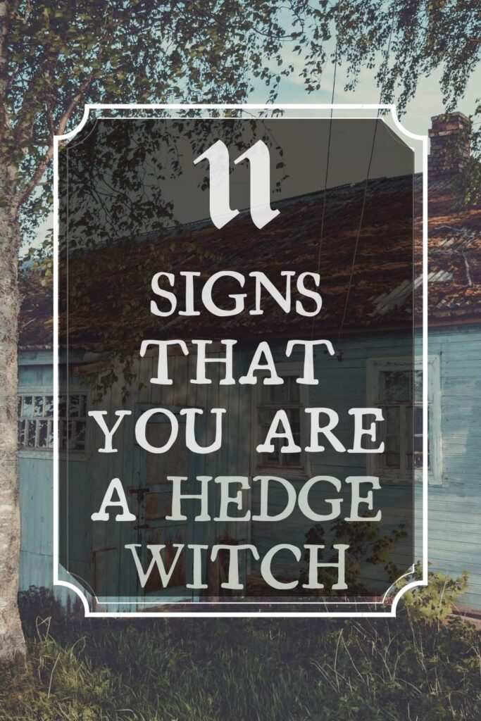 11 signs that you are a hedge witch types of witches
