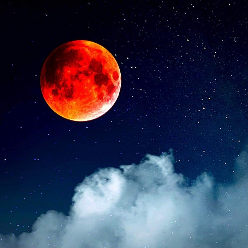What is Blood Moon Meaning - photography