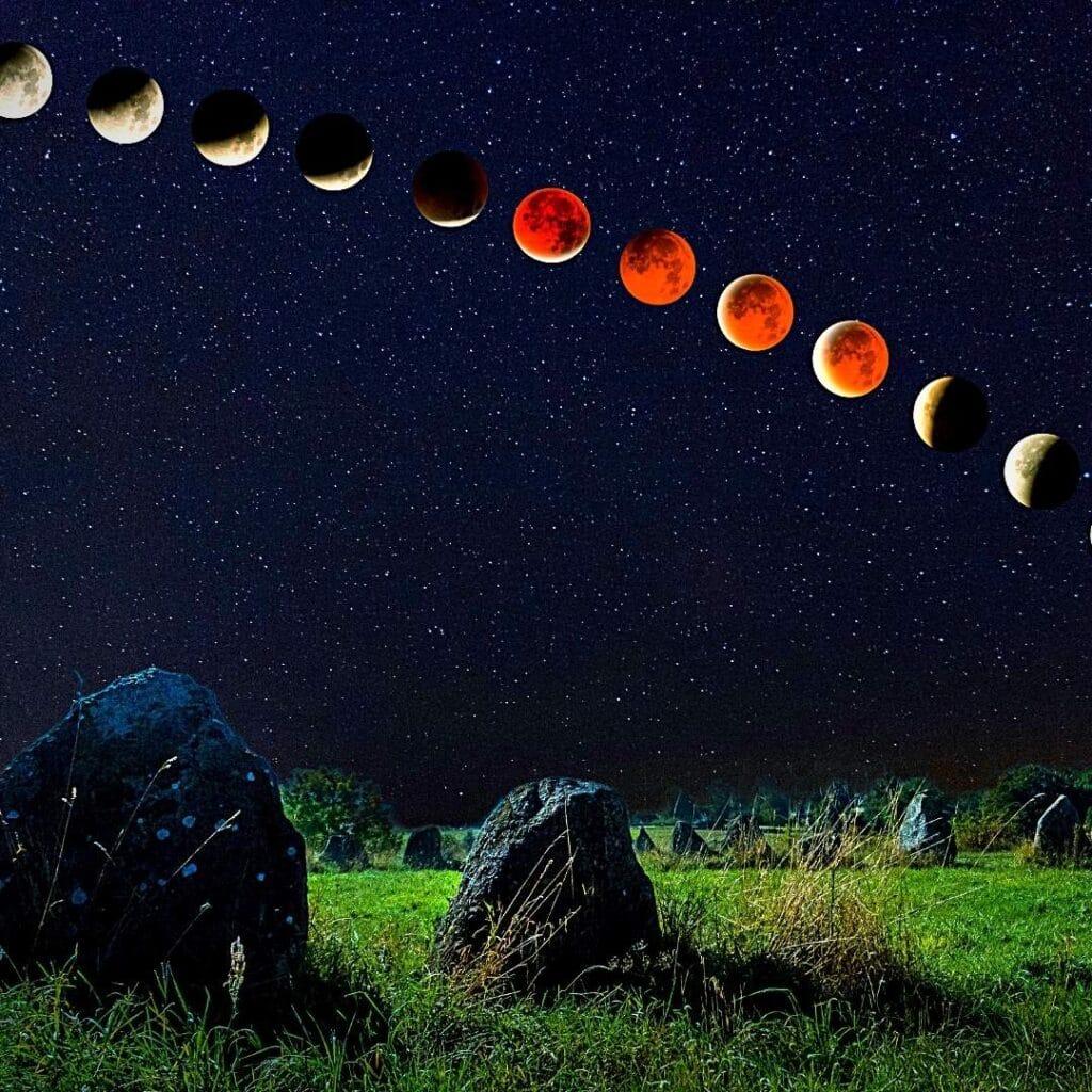 Lunar eclipse photography