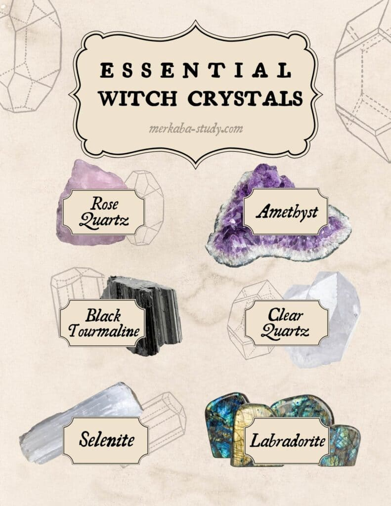 essential crystals page
