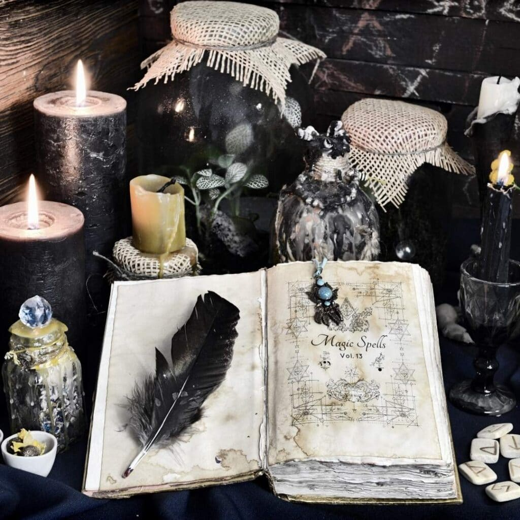 magic spells - online grimoire - Merkaba Study