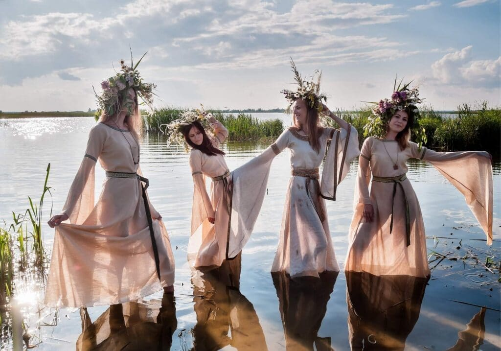 photo of celebrating summer solstice rituals for litha and midsummer