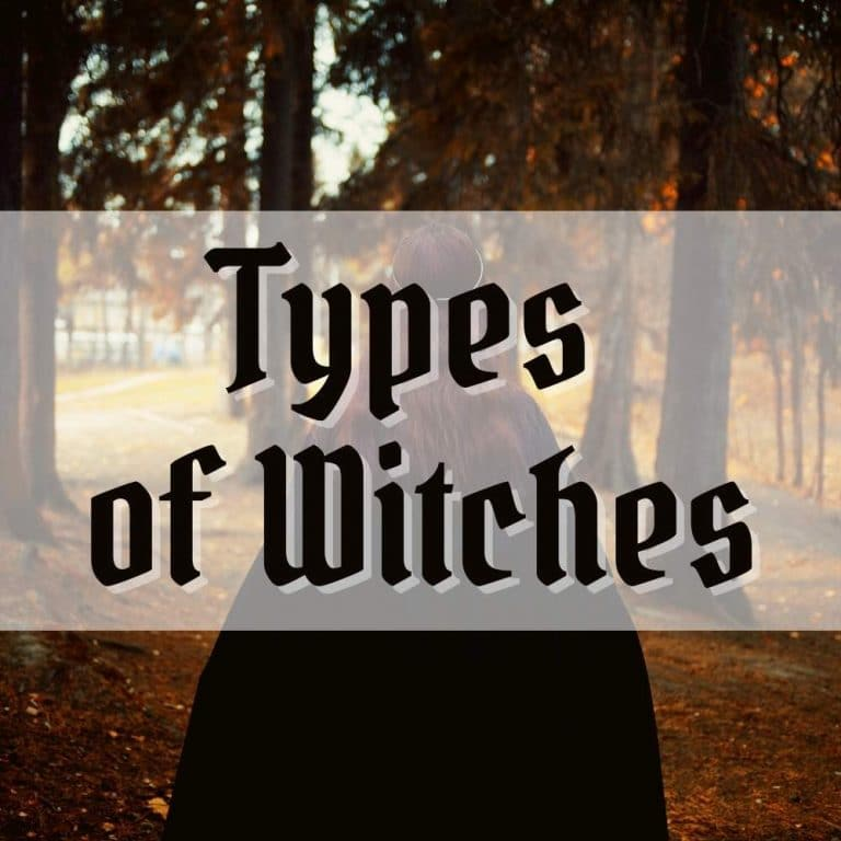 different types of witches list - cover photo